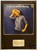 DUSTY SPRINGFIELD -Girl Called  Dusty -Framed LP Cover